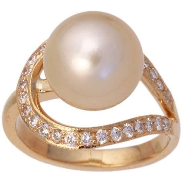 Кольцо с жемчугом фото 2