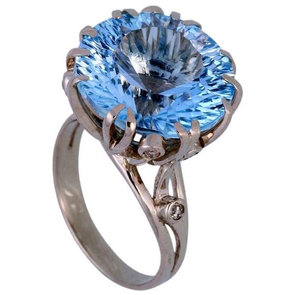 Кольца с большими камнями фото 4